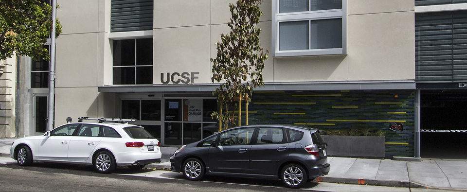 UCSF Sutter Street Parking Garage